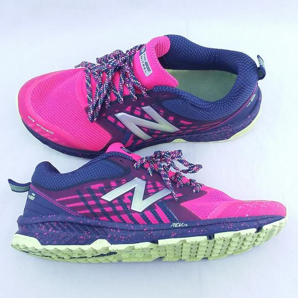 new balance fuelcore nitrel women's trail running shoes blackberry